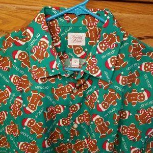Gingerbread Holiday shirt